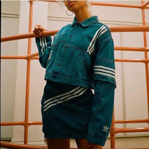 f787f4f07e Jackets   Blazers - Adidas Danielle Cathari denim jacket